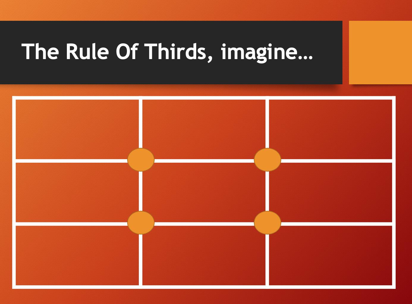 Rule of third