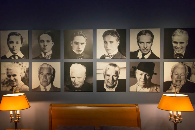 Charlie Chaplin bedroom